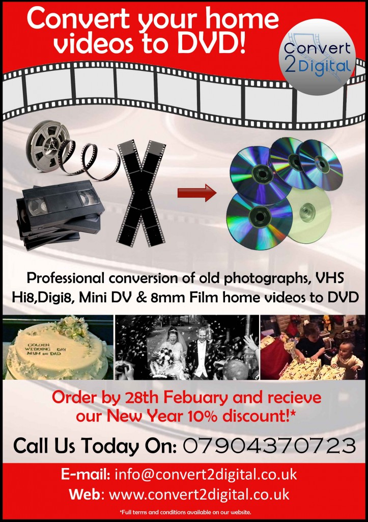 Conver2Digital Advert January 2015